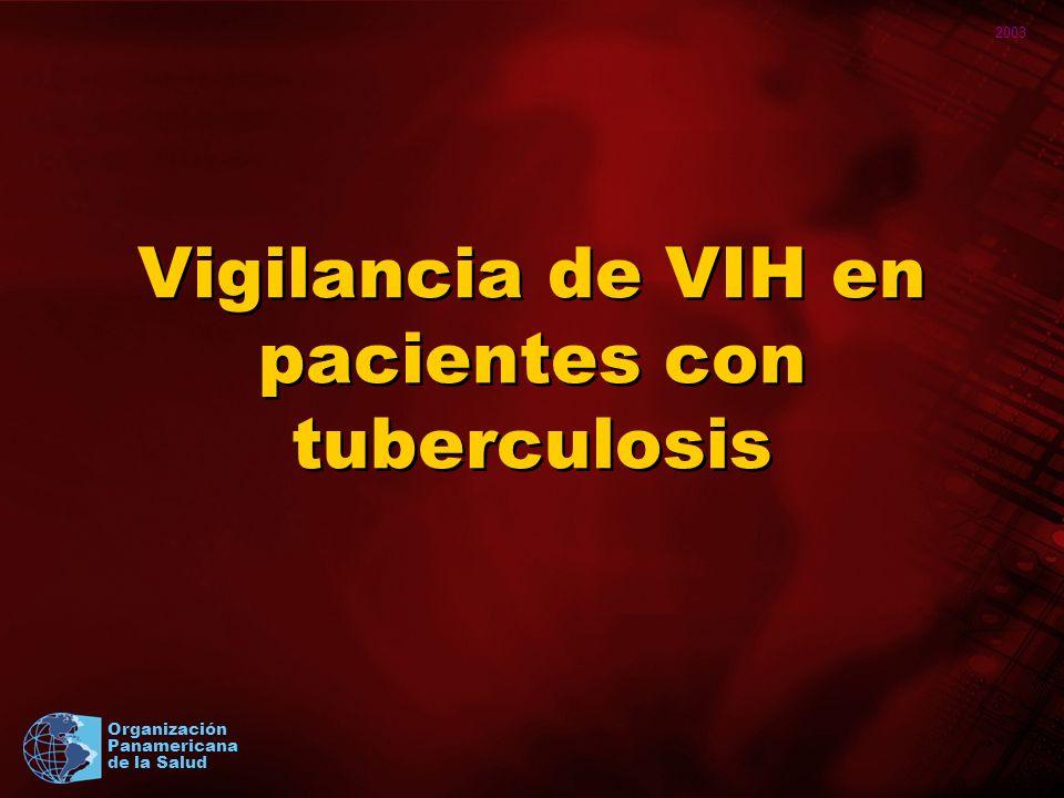 2003 Organización Panamericana de la Salud Taller sobre coinfección TB/VIH San Pedro Sula, Honduras, agosto 2003 18 Temas metodológicos difíciles 1.Debate ético alrededor de las pruebas de VIH anónimas no ligados.