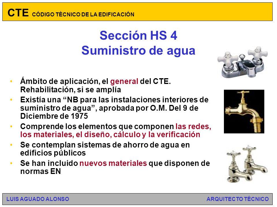 Sección HS 3 Calidad del aire interior Ámbito de aplicación: edificios de viviendas.