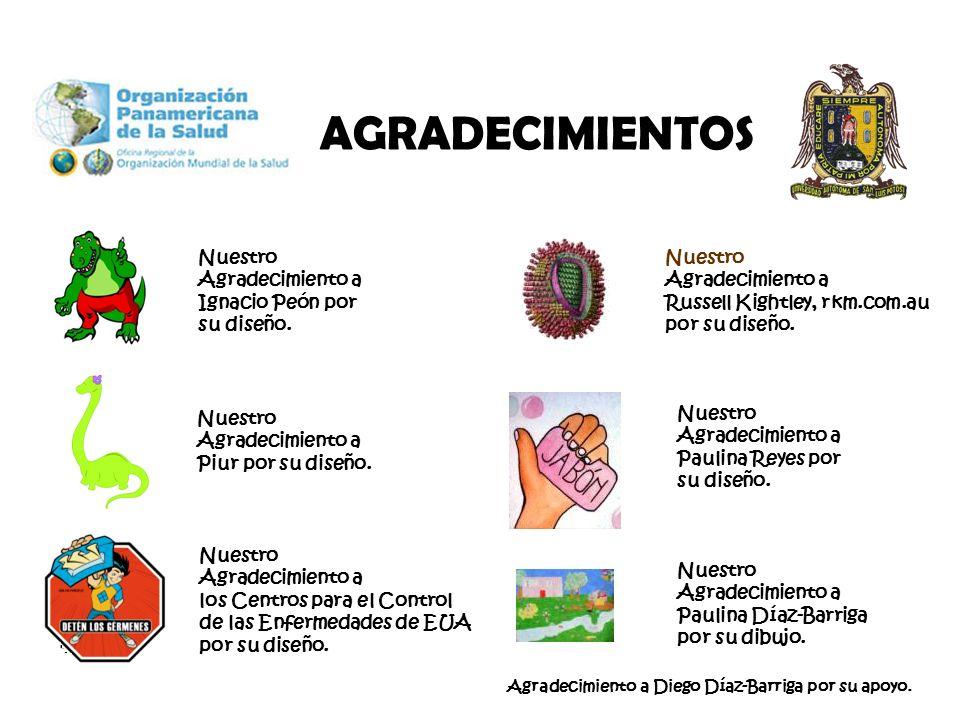 Nuestro Agradecimiento a Ignacio Peón por su diseño. Nuestro Agradecimiento a Piur por su diseño. Nuestro Agradecimiento a los Centros para el Control
