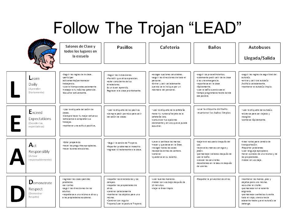Follow The Trojan LEAD