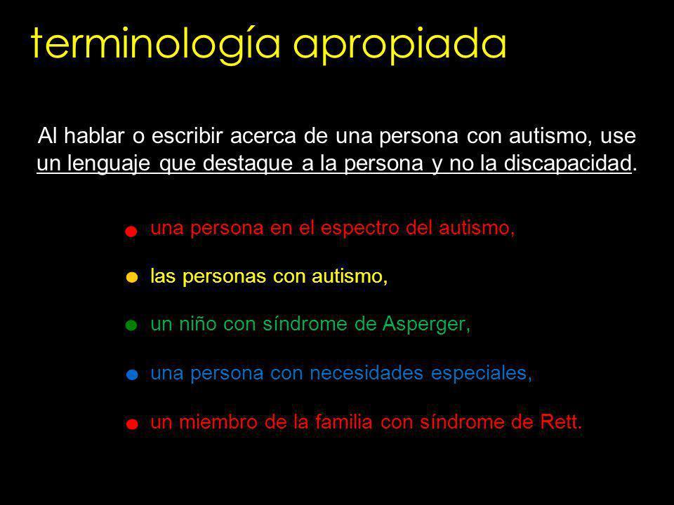 una persona en el espectro del autismo, las personas con autismo, un niño con síndrome de Asperger, una persona con necesidades especiales, un miembro