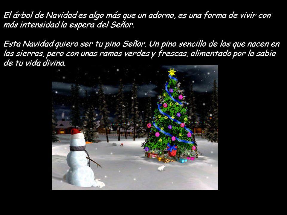 El árbol de Navidad es algo más que un adorno, es una forma de vivir con más intensidad la espera del Señor.