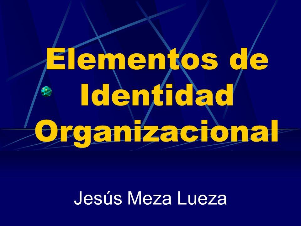 Elementos de Identidad Organizacional Jesús Meza Lueza