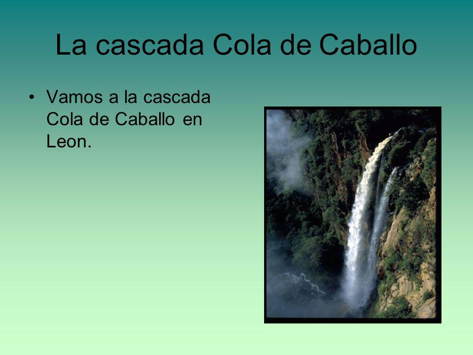 La cascada Cola de Caballo Vamos a la cascada Cola de Caballo en Leon.