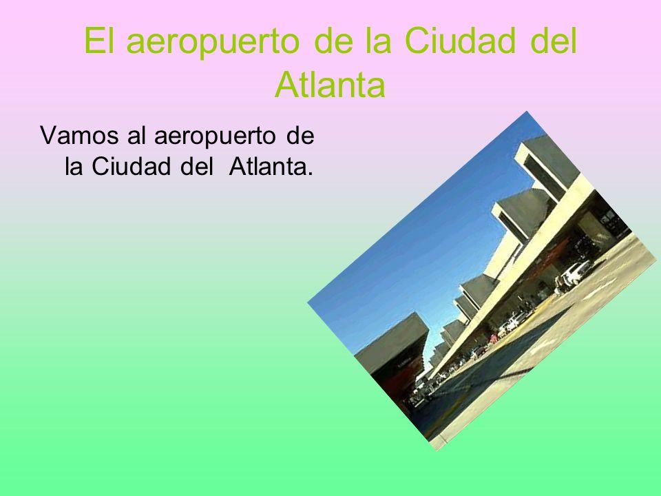 El aeropuerto de la Ciudad del Atlanta Vamos al aeropuerto de la Ciudad del Atlanta.