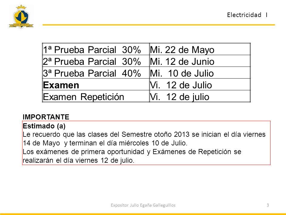 3Expositor Julio Egaña Galleguillos 1ª Prueba Parcial 30%Mi.