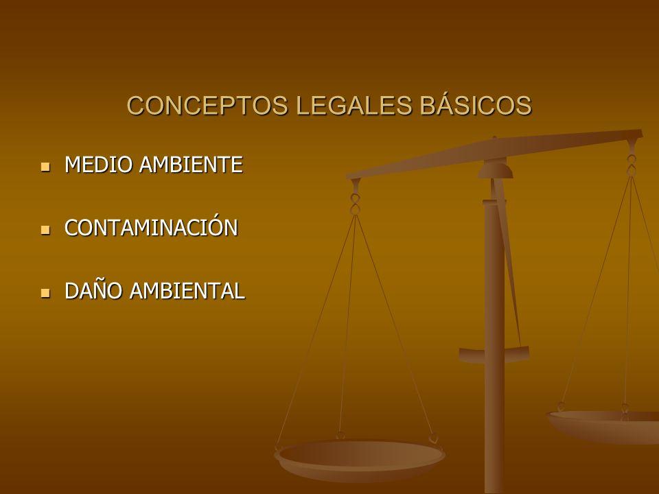 la legislacion de relevancia ambiental vigente en:
