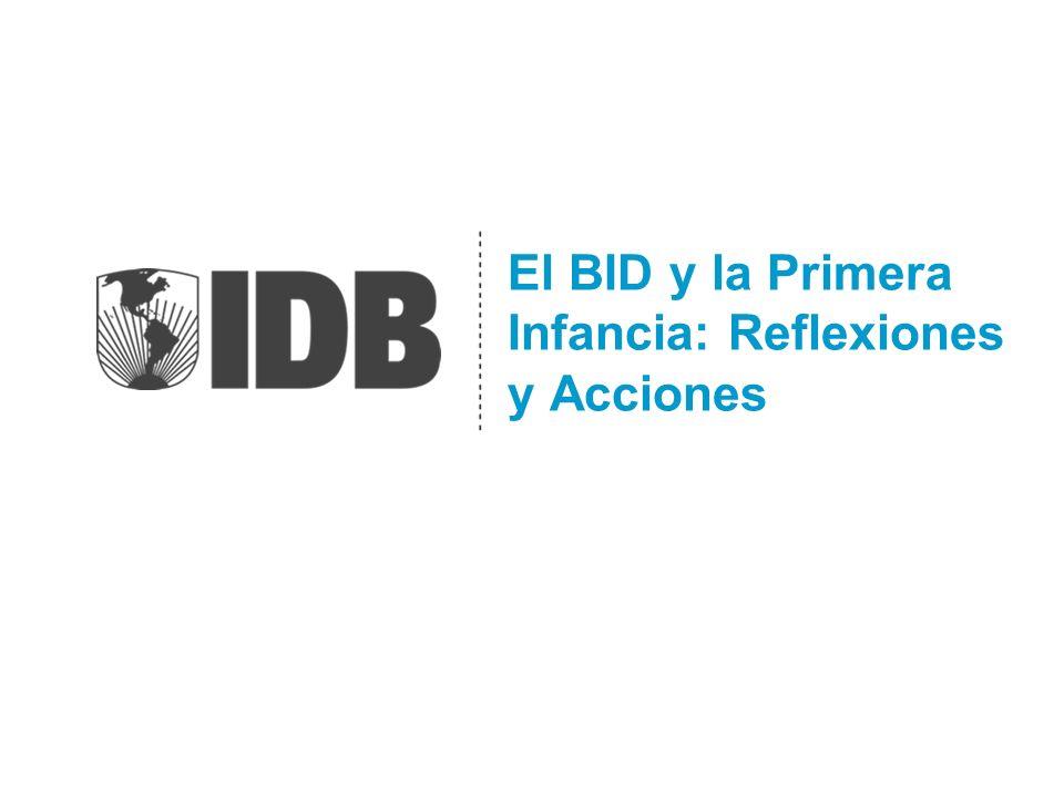 El BID y la Primera Infancia: Reflexiones y Acciones