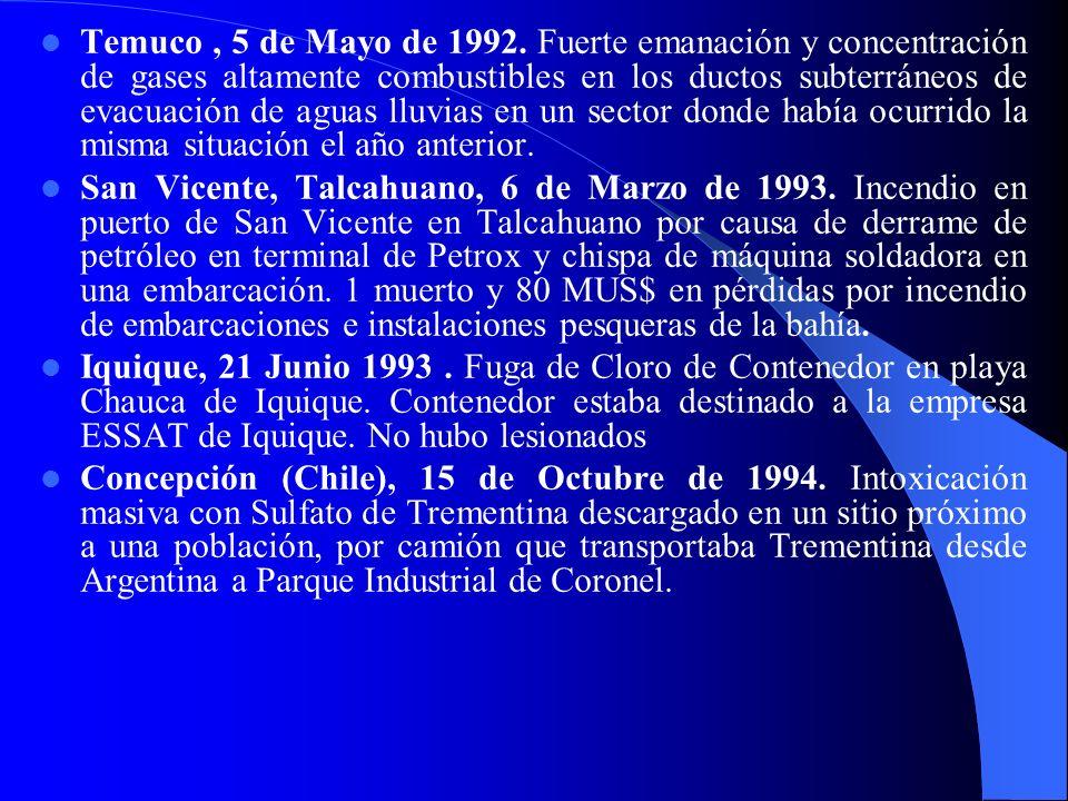 Temuco, 5 de Mayo de 1992.