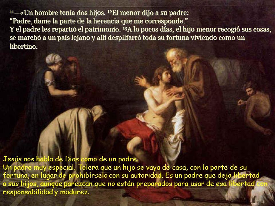 3 Entonces Jesús les dijo esta parábola: A los fariseos y maestros de la ley les escandaliza el comportamiento atípico de Jesús.