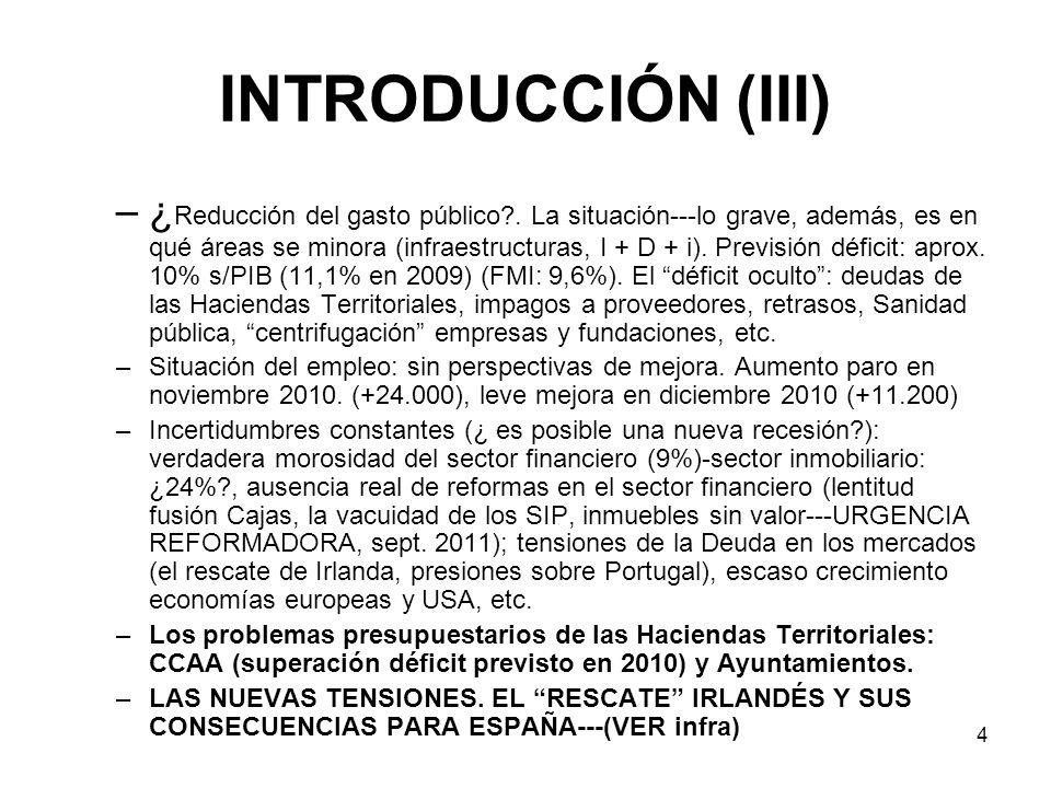 5 POLÍTICA TRIBUTARIA (I) ALGUNOS BROTES VERDES, vgr.