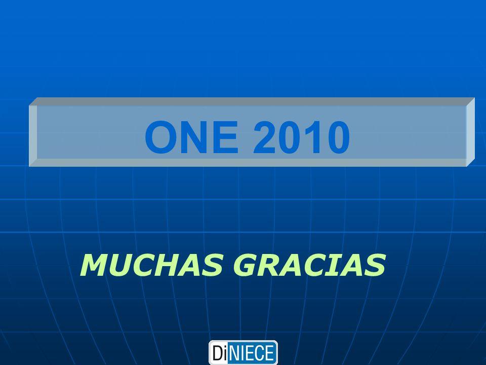 ONE 2010 MUCHAS GRACIAS