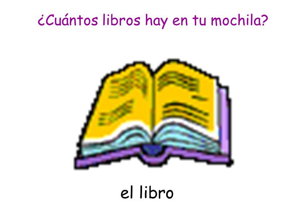 el libro ¿Cuántos libros hay en tu mochila