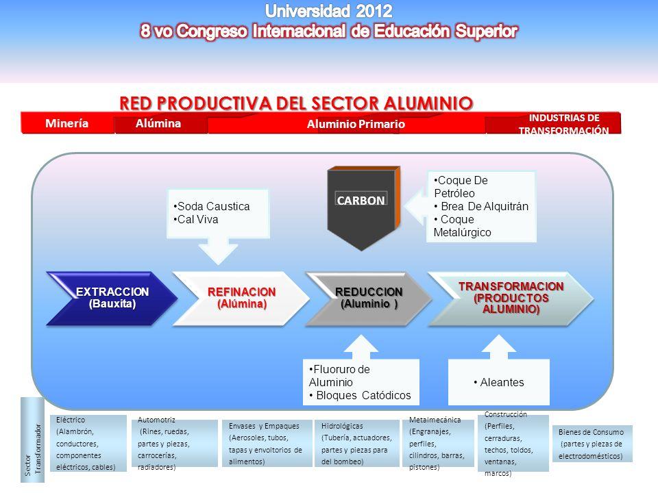 RED PRODUCTIVA DEL SECTOR ALUMINIO