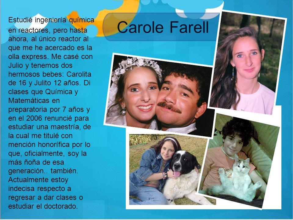 Fabiola Morales …y 5 Soy Licenciada en Mercadotecnia generación 1990 – 1994 del Tec de Monterrey.