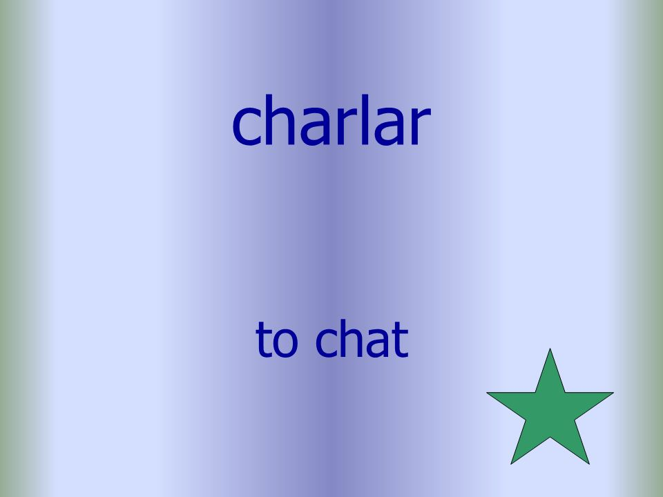 charlar to chat