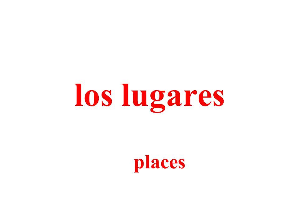 los lugares places