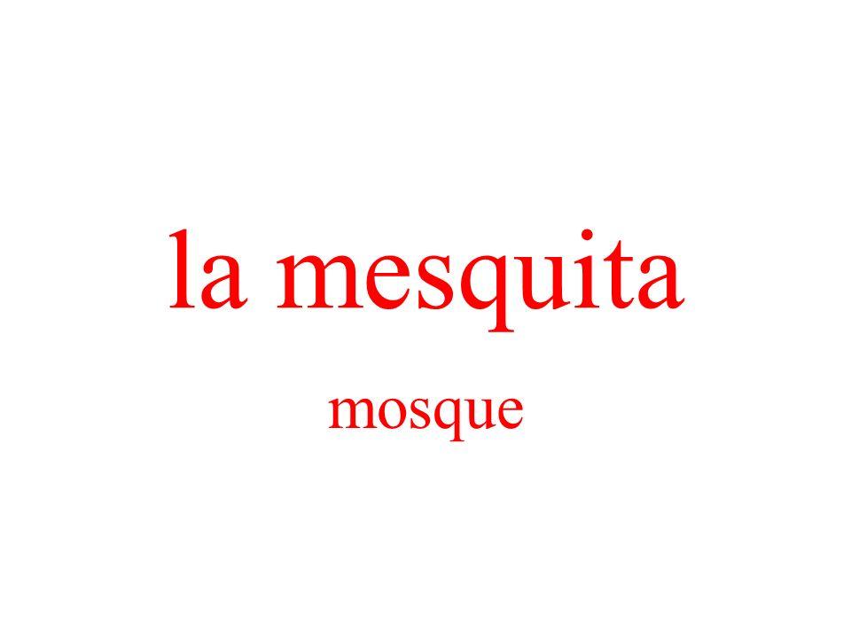 la mesquita mosque
