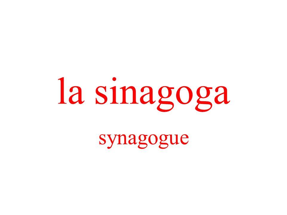 la sinagoga synagogue