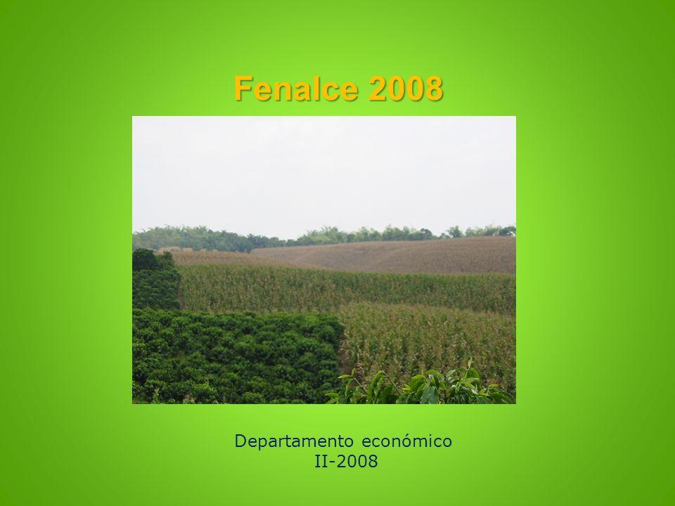 Fenalce 2008 Departamento económico II-2008