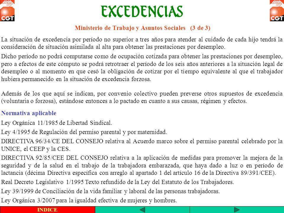 Excedencia y Prestación por Desempleo (1 de 2) Pregunta: Estoy en situación de excedencia voluntaria en la empresa ¿puedo cobrar prestación?.