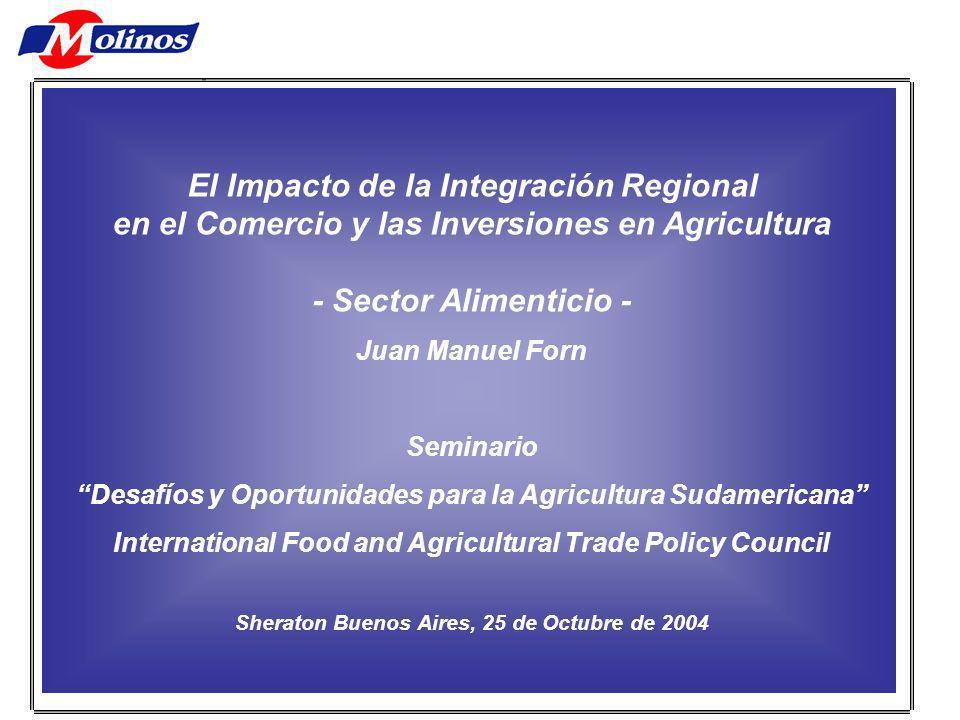 Otro ámbito fundamental para la agroindustria.