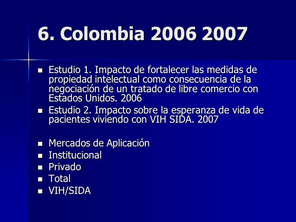 6. Colombia 2006 2007 Estudio 1.