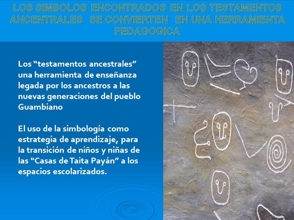 Los testamentos ancestrales una herramienta de enseñanza legada por los ancestros a las nuevas generaciones del pueblo Guambiano El uso de la simbolog