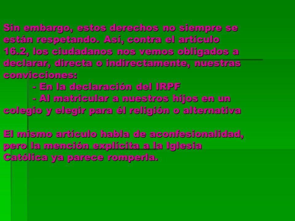 R.D.2438/1994 que regula la Enseñanza de la Religión Art.