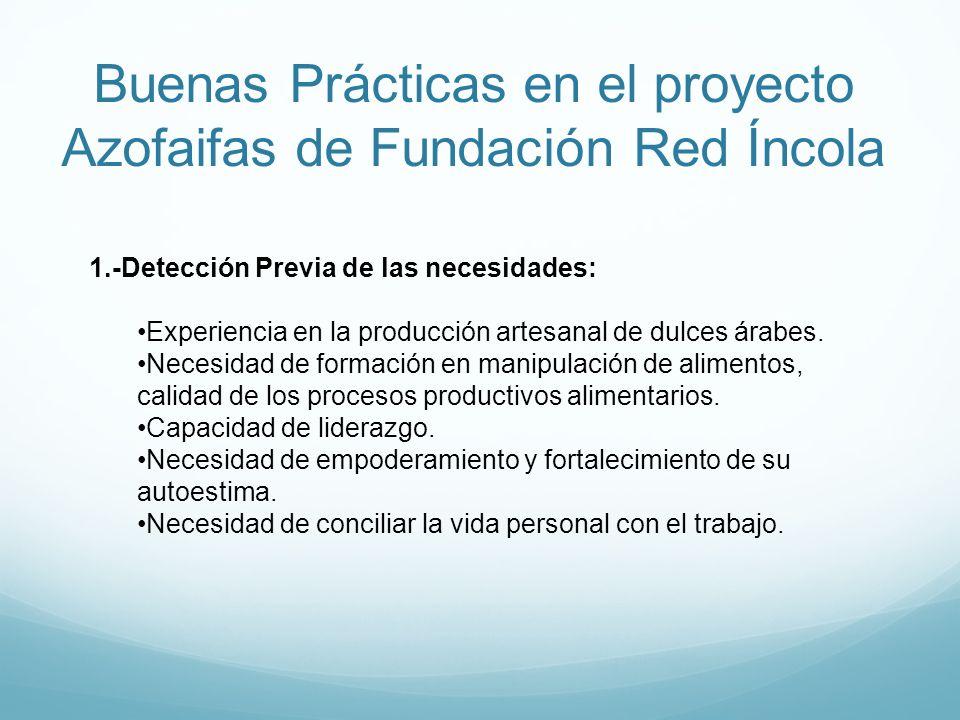 Buenas Prácticas en el proyecto Azofaifas de Fundación Red Íncola 1.-Detección Previa de las necesidades: Experiencia en la producción artesanal de du