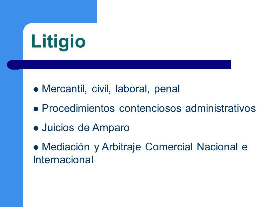 Corporativo Constitución y operación de sociedades.