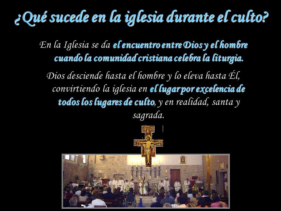 ¿Cómo deben construirse las iglesias? una imagen de la asamblea que se reúne Como una imagen de la asamblea que se reúne, que permita un orden proporc