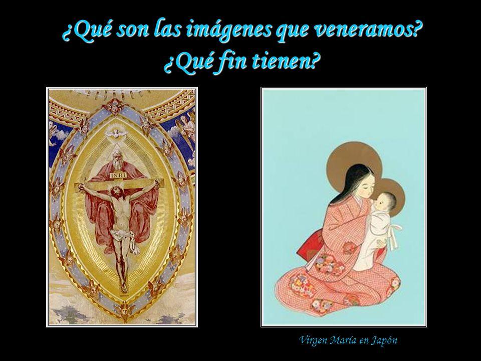 Las imágenes Las imágenes en la Iglesia ¿Cuándo comenzaron a ponerse imágenes en las iglesias? Ya en la iglesia primitiva los artistas cristianos deco