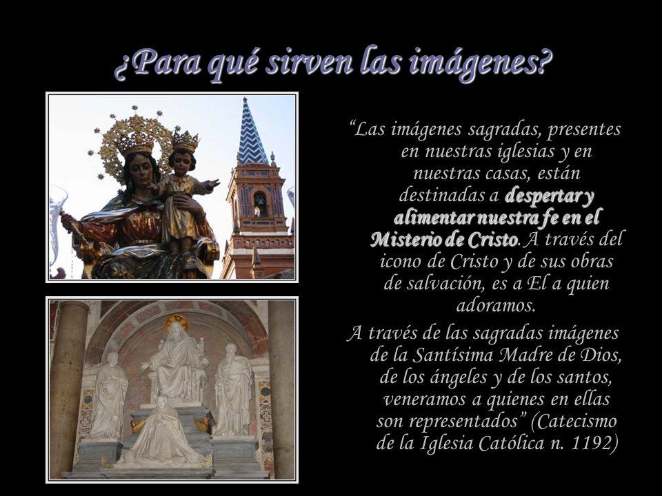 Joseph Ratzinger, El espíritu de la Liturgia La ausencia total de imágenes no es compatible con la fe en la encarnación de Dios. Dios, en su actuación