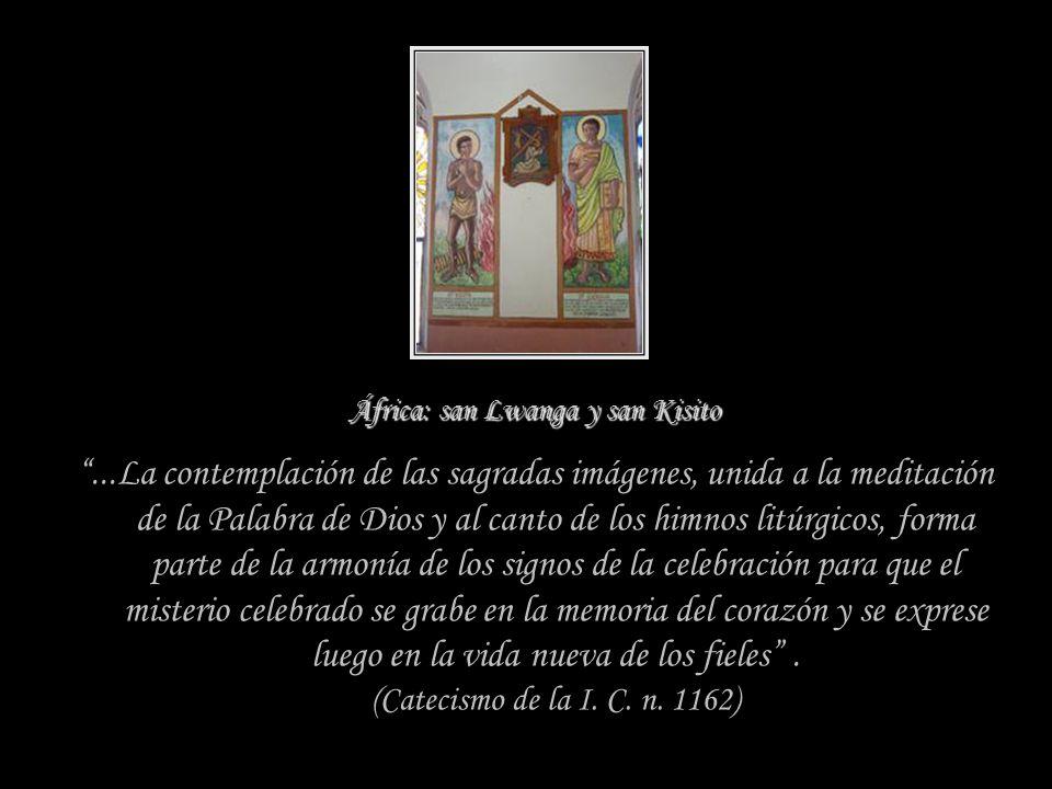 ¿Para qué sirven las imágenes? despertar y alimentar nuestra fe en el Misterio de CristoLas imágenes sagradas, presentes en nuestras iglesias y en nue