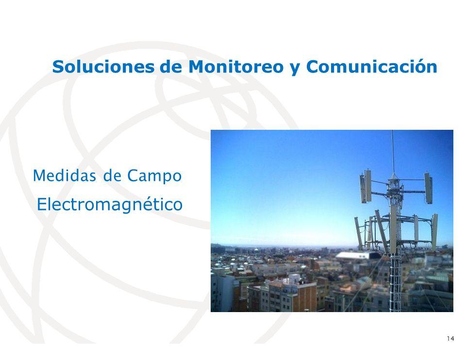 Medidas de Campo Electromagnético 14 Soluciones de Monitoreo y Comunicación