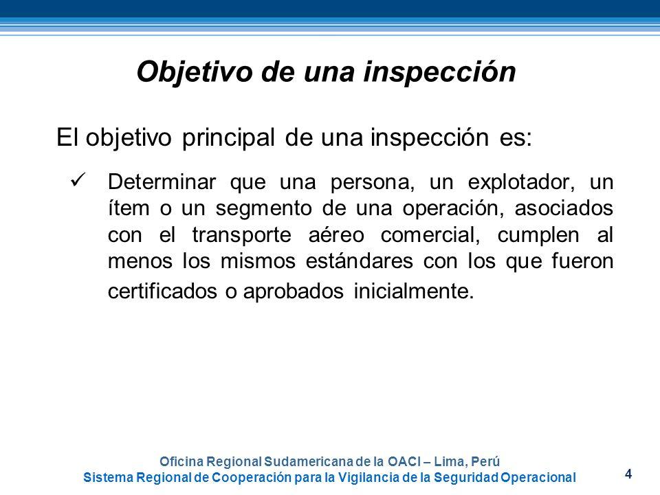 4 Oficina Regional Sudamericana de la OACI – Lima, Perú Sistema Regional de Cooperación para la Vigilancia de la Seguridad Operacional Objetivo de una