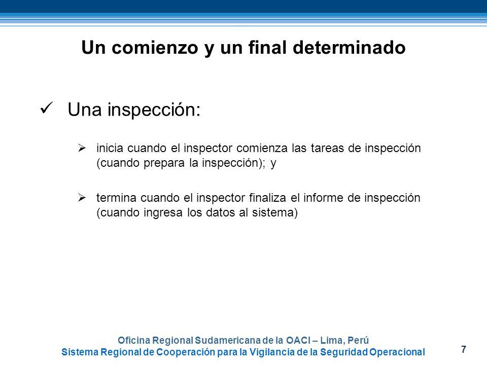 7 Oficina Regional Sudamericana de la OACI – Lima, Perú Sistema Regional de Cooperación para la Vigilancia de la Seguridad Operacional Un comienzo y u