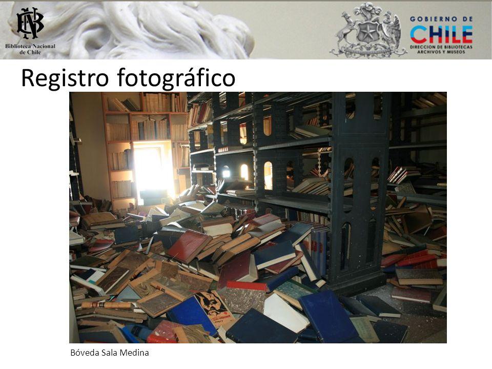 Registro fotográfico Bóveda Sala Medina