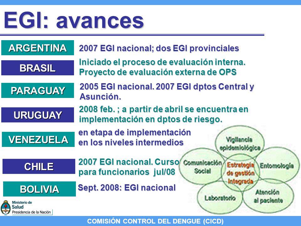 COMISIÓN CONTROL DEL DENGUE (CICD) Acuerdo PPTU-07: Acuerdo PPTU-07: elaboración de un manual de procedimientos e indicadores de resultados para mantener los puertos y aeropuertos libres de aedes aegypti Acuerdo de contenidos Acuerdo de contenidos Chile y Paraguay: Chile y Paraguay: acordaron en desarrollar los puntos.