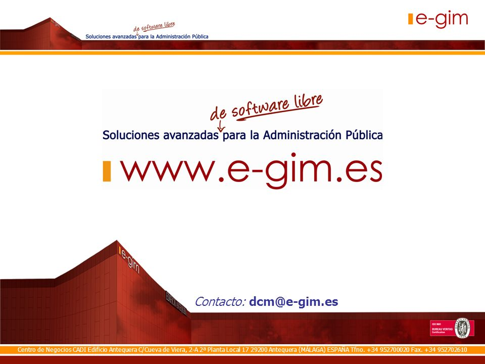 © Staff Marketing e-gim – 2009 Pág.