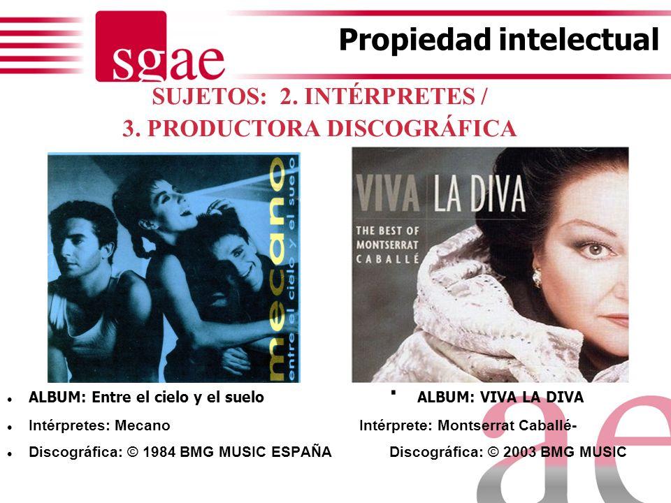Autor Derechos patrimoniales exclusivos: (17 TRLPI) - Reproducción: producción discográfica, sincronizaciones (publicidad y películas) - Distribución: