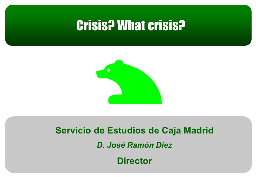 Estrategia Anual 2009 Servicio de Estudios de Caja Madrid D.