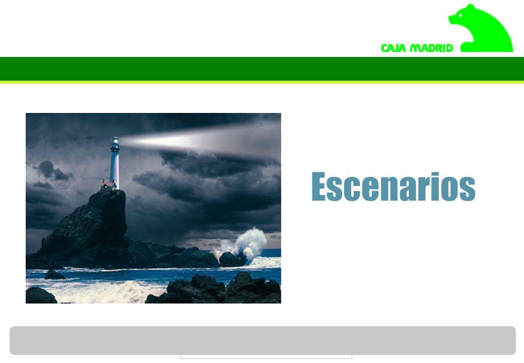 Servicio de Estudios de Caja Madrid 46 Escenarios
