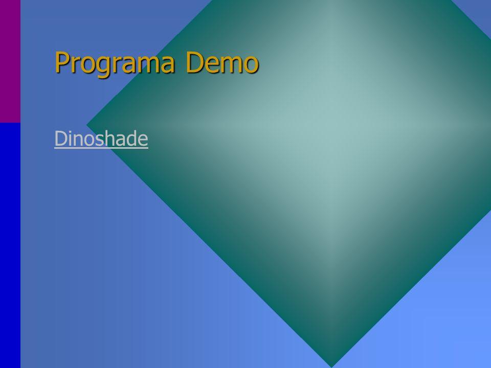 Programa Demo Dinoshade