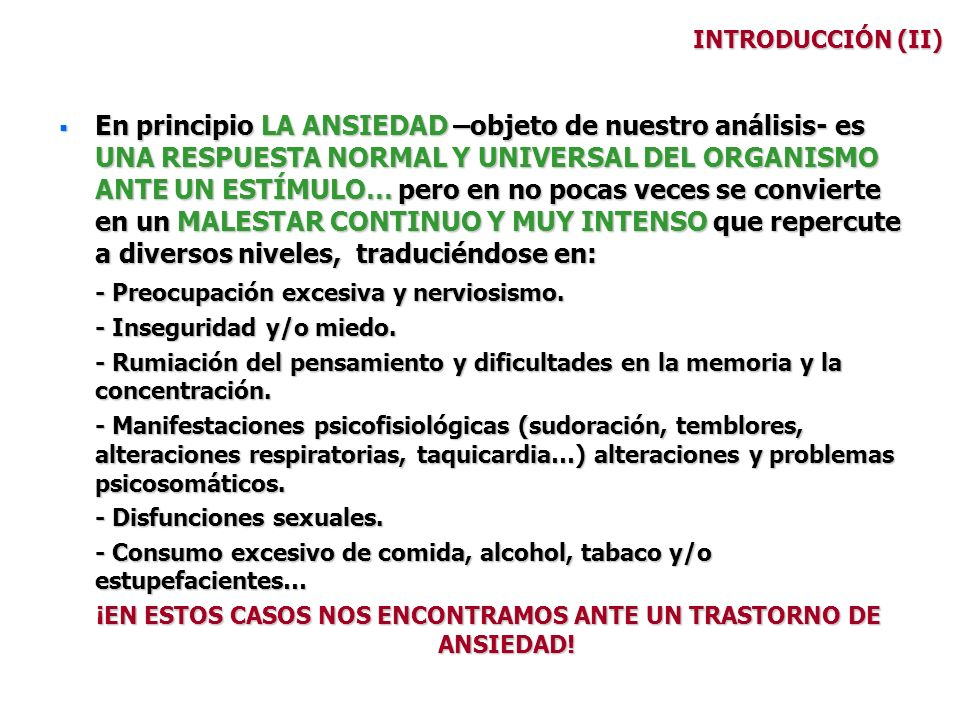 SUBTIPOS (VIII) TRASTORNO DE ANGUSTIA Criterios: 1.- Crisis de angustia recidivantes e inesperadas.