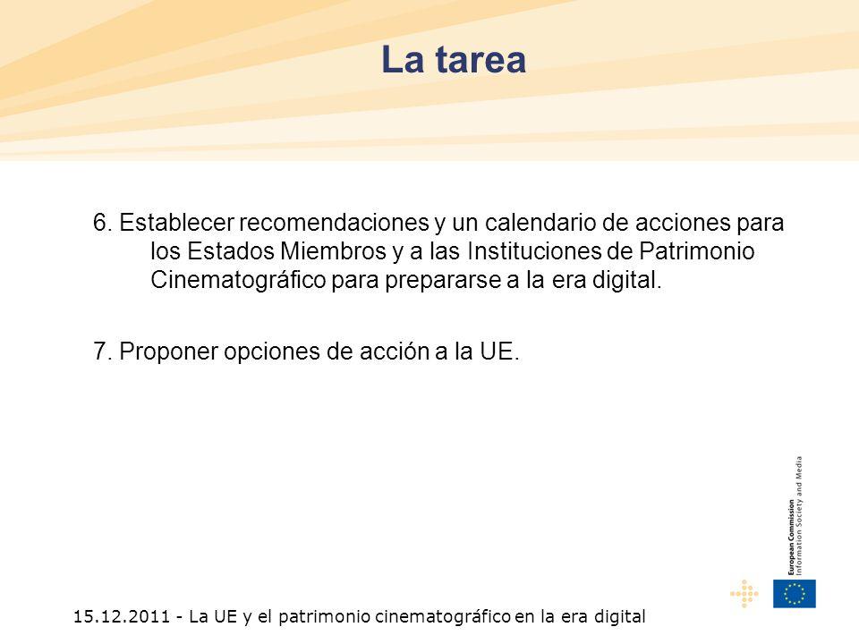 15.12.2011 - La UE y el patrimonio cinematográfico en la era digital 6.