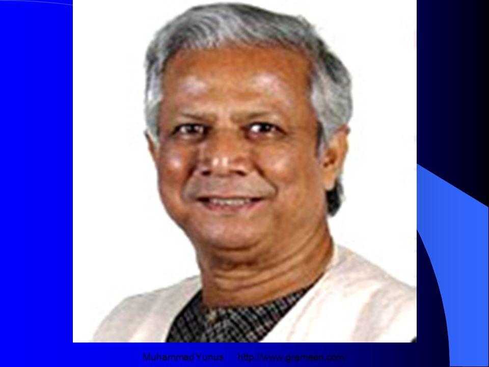 Muhammad Yunus http://www.grameen.com/