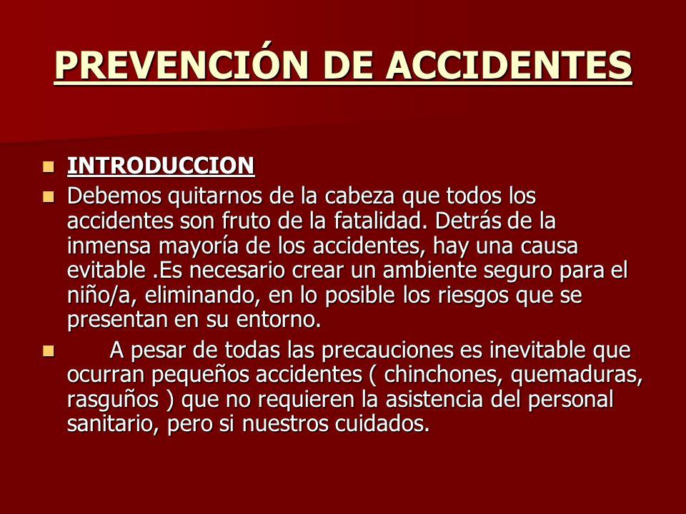PREVENCIÓN DE ACCIDENTES INTRODUCCION INTRODUCCION Debemos quitarnos de la cabeza que todos los accidentes son fruto de la fatalidad. Detrás de la inm