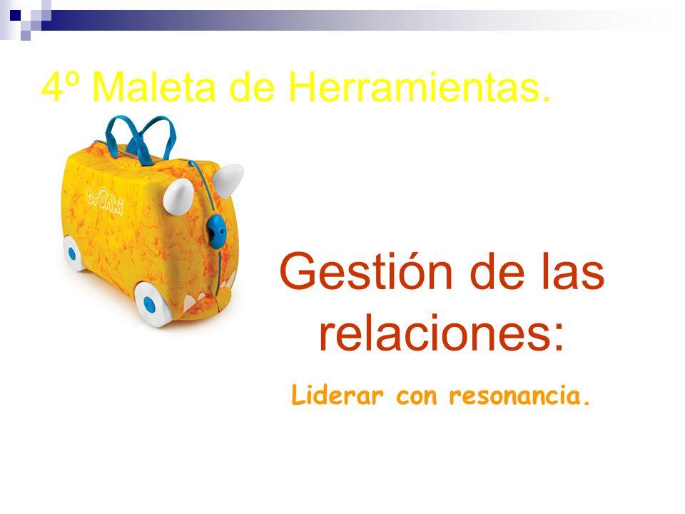 4º Maleta de Herramientas. Gestión de las relaciones: Liderar con resonancia.
